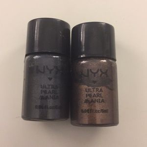 NYX ultra pearl pigments